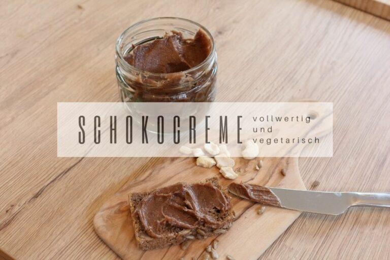 Rezept Schokocreme